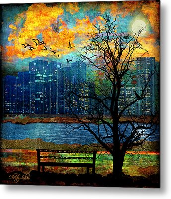Hot Summer Nights Metal Print