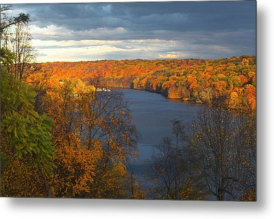 Metal Print featuring the photograph Housatonic In Autumn by Karol Livote