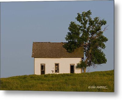 Metal Print featuring the photograph House On The Hill by Don Durfee