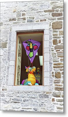 Metal Print featuring the photograph How Much Is That Dragon In The Window by John Schneider