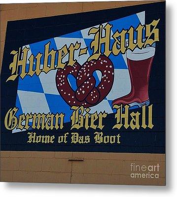 Huber Haus Mural, Omaha Metal Print by Poet's Eye