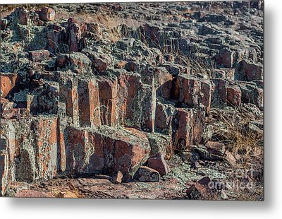 Hughes Mountain Metal Print