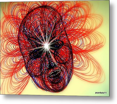 Humming Mass Of Raw Experience Metal Print by Paulo Zerbato
