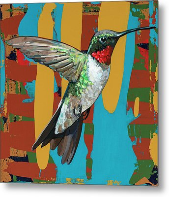 Hummingbird #10 Metal Print by David Palmer