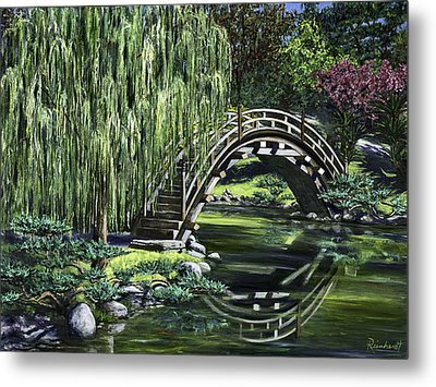 Huntington Tea Metal Print by Lisa Reinhardt