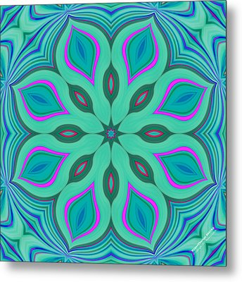 Hypnotherapy 2231k8 Metal Print by Brian Gryphon