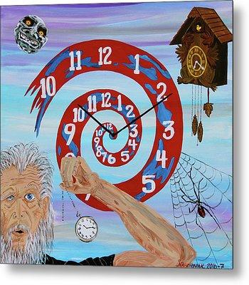 Hypnotic Time Metal Print by Mike Nahorniak