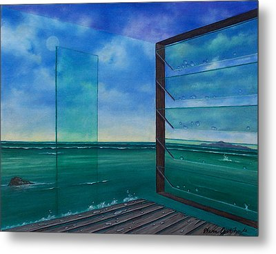 I Can See Clearly Now Metal Print by Sharon Ebert