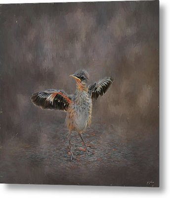 I Know I Can Fly Metal Print