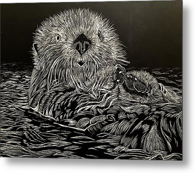 I Otter Be Yours Metal Print