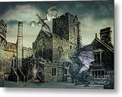 I See Dragons Metal Print