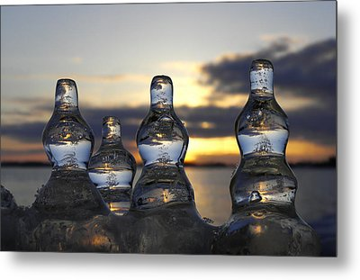 Metal Print featuring the photograph Ice And Water 3 by Sami Tiainen