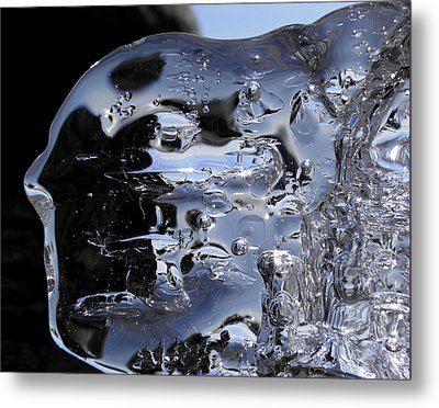 Metal Print featuring the photograph Ice Man by Sami Tiainen