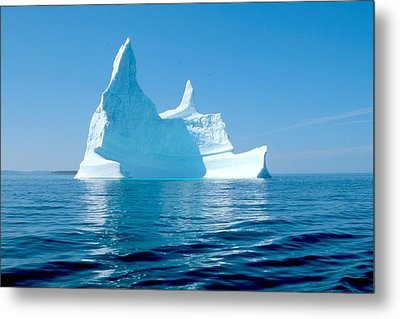Iceberg Metal Print by Douglas Pike