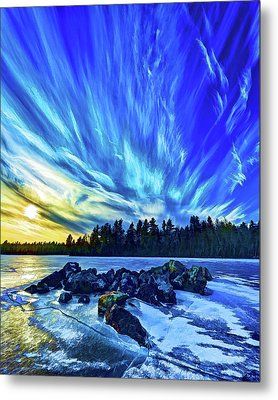 Icebound 3 Metal Print by ABeautifulSky Photography
