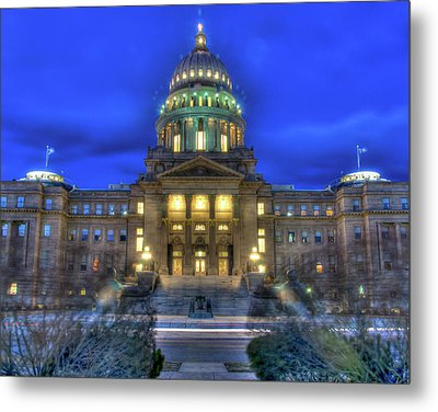 Idaho's Liberty Bell Metal Print