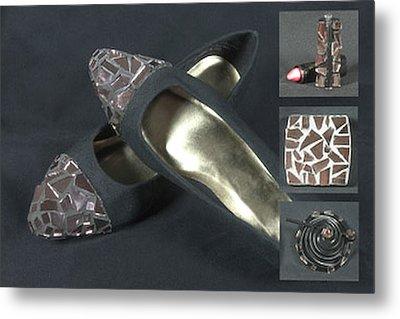 If The Shoe Fits...... Metal Print by Diane Morizio
