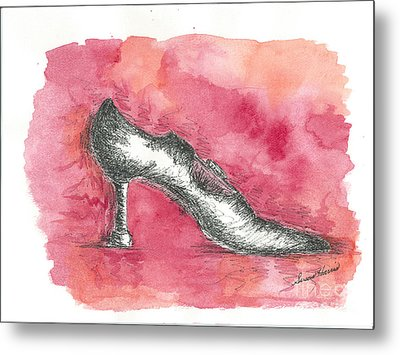 If The Shoe Fits Metal Print by Susan Harris