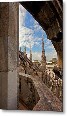 il Duomo di Milano 1 Metal Print by Art Ferrier