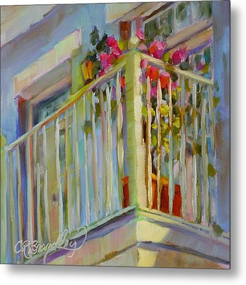 I'll Leave The Porch Light On Metal Print by Chris Brandley