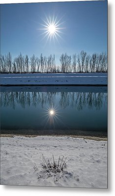 Metal Print featuring the photograph Impression Of Reflection by Davorin Mance
