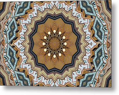 Metal Print featuring the digital art Impressions by Wendy J St Christopher