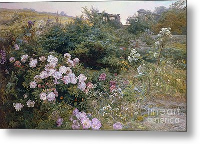 In Full Bloom  Metal Print by Henry Arthur Bonnefoy