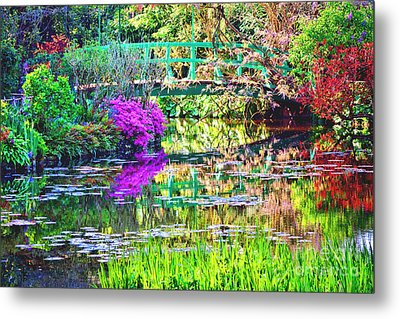 In Giverny Metal Print