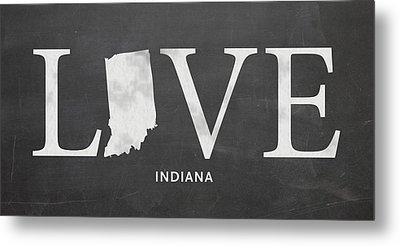 In Love Metal Print by Nancy Ingersoll
