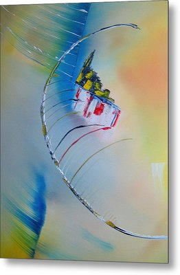 In Motion Metal Print by David Hatton