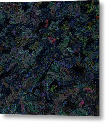 Metal Print featuring the photograph In The Abstract by Lewis Mann
