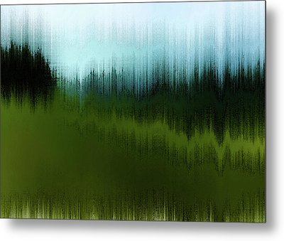 In The Black Forest Metal Print