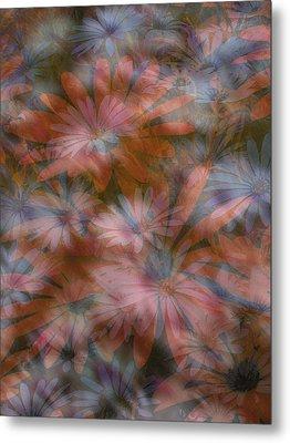 In The Garden Metal Print by Eileen Shahbazian
