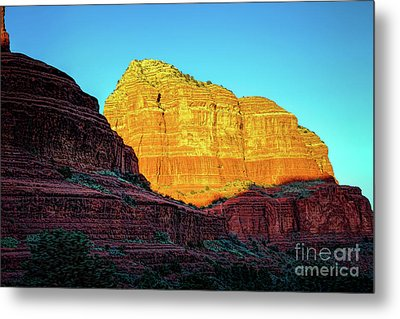 In The Shadow Of The Bell Metal Print by Jon Burch Photography