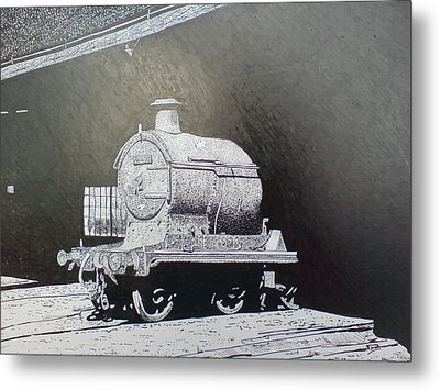 In The Shadows Metal Print by Andy Davis
