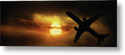 In The Suns Shadow Metal Print