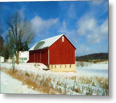 In The Throes Of Winter Metal Print