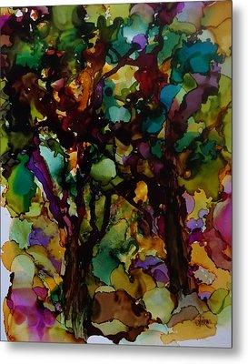 In The Woods Metal Print by Alika Kumar