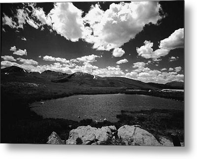 Independence Pass Colorado Metal Print by Susan Chandler