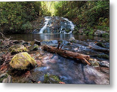 Indian Creek Falls Metal Print
