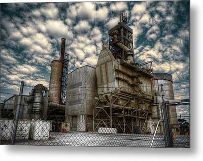 Industrial Disease Metal Print by Wayne Sherriff