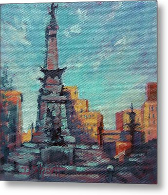 Indy Circle- Day Metal Print