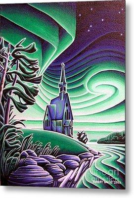 Infant Jesus Church, Longlac, Ontario Metal Print