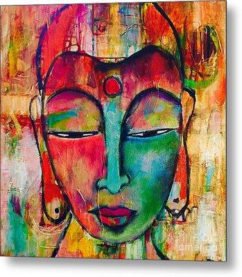 Inner Buddha  Metal Print