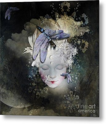 Inner Life Metal Print by Monique Hierck