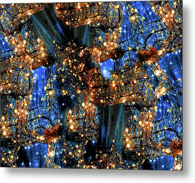 Metal Print featuring the digital art Inspiration #6102 by Barbara Tristan
