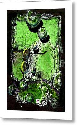 Metal Print featuring the painting Inspire by Carol Rashawnna Williams