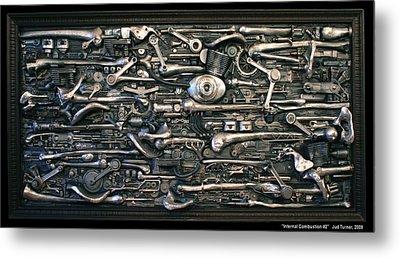 Internal Combustion 2 Metal Print by Jud  Turner