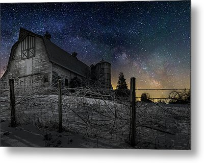 Metal Print featuring the photograph Interstellar Farm by Bill Wakeley