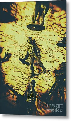 Interventionism Metal Print by Jorgo Photography - Wall Art Gallery
